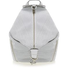 Rebecca Minkoff Leather Handbag Julian Backpack ($150) ❤ liked on Polyvore featuring bags, backpacks, backpack, black, leather knapsack, genuine leather bags, leather backpack, leather rucksack and zipper bag
