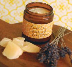 Lavender:  #Lavender Beeswax Hand Cream Recipe – Healthy Home – Mother Earth Living.