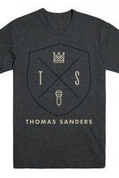 Thomas Sanders Merch Shield (Heather Navy)