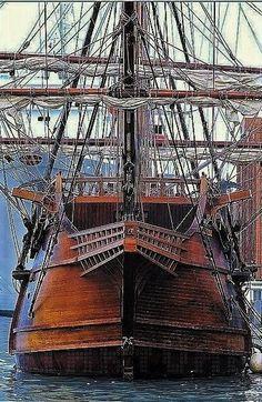 Moby Dick, Old Sailing Ships, Full Sail, Naval, Wooden Ship, Sail Away, Wooden Boats, Tall Ships, Model Ships