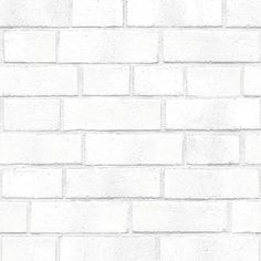 Sample Brick White Textured Self Adhesive Wallpaper design by Tempaper ($10) ❤ liked on Polyvore featuring backgrounds and wallpaper samples