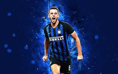 Download wallpapers Stefan de Vrij, 4k, abstract art, Internazionale, Italy, football, Serie A, De Vrij, Inter Milan, soccer, italian football club, footballers, neon lights, Inter Milan FC, Dutch footballer Soccer Players, Football Team, Football Wallpaper Iphone, France National Team, Soccer Backgrounds, Soccer Motivation, Anthony Martial, Soccer Pictures, Sports Wallpapers