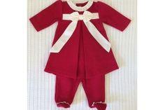 Vestido Maternidade Laço Shantung Vermelho