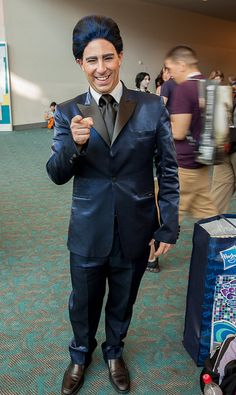 Caesar Flickerman from Hunger Games | SDCC 2013