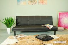 URBAN Sofa Bed *Black or Brown Color , Sofa & Ottoman, NZ's Largest Furniture Range with Guaranteed Lowest Prices: Bedroom Furniture, Sofa, Couch, Lounge suite, Dining Table and Chairs, Office, Commercial & Hospitality Furniturte