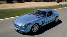 #MercedesBenz SLS #AMG #Coupe #ElectricDrive Combines Eco-Friendly Features With Power