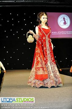 red bridal from Alankar Sarees in Manchester
