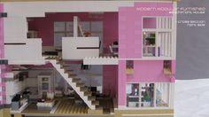 MOC lego pink house