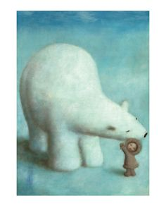 'Loving Polar Bear' By STEPHEN MACKEY <3<3<3FABULOUS WHIMSY ART<3<3<3