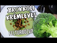 Brokkolikrémleves fűszeres sült csicseriborsóval Paleo, Healthy Eating, Make It Yourself, Vegetables, Food, Youtube, Meal, Essen, Vegetable Recipes