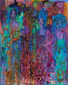The exhibition 'Unquiet Brides' by Vanessa Mitter opens at Unit G Gallery in June 2016.