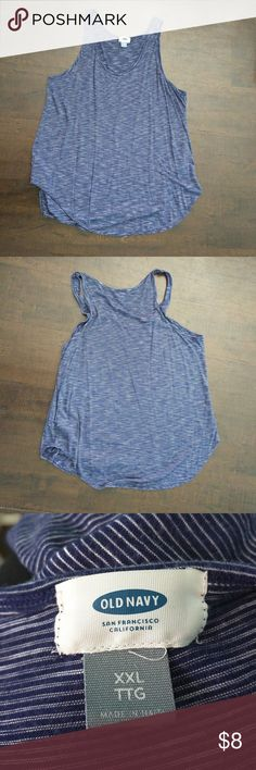 XXL Old Navy striped tank Old Navy Old Navy Tops Tank Tops