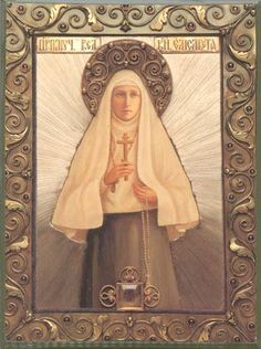 Holy Royal Martyr and Grand Duchess Elisaveta, pray unto the Lord Jesus Christ for the salvation of our souls.