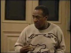 (I love him!)The Cosby Show -- Dr Huxtable teaches Theo to sing the blues!