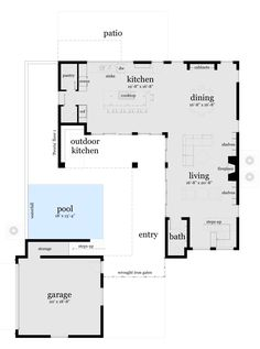 Plan 60509nd Duplex With Courtyard Pantry Butler And