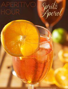 Spritz Aperol - Aperitivo Cocktail recipe