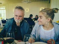 Roger and daughter, Tigerlily Taken by son, Rufus Taylor Rogers, Queen Brian May, Princes Of The Universe, Roger Taylor Queen, Queen Ii, Ben Hardy, Somebody To Love, Queen Freddie Mercury, Queen Band