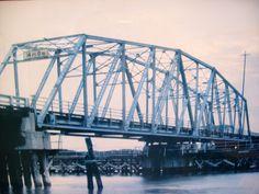 Ocean Isle Beach, NC    the swing bridge 1958 thru 1987