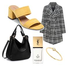 Untitled #26 by anu-lehtonen on Polyvore featuring polyvore, fashion, style, Samoon, Who What Wear, Sydney Evan, Yves Saint Laurent and clothing