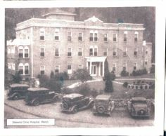 Steven's Clinic Hospital, Welch, WV.  Originally pinned by W Rivers onto McDowell County, West Virginia.