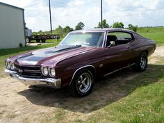 1970 Chevelle SS - now this is Daddy's ride!!!!!