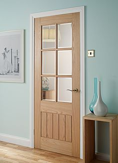 Mexicana Oak Glazed Oak Internal Doors - Light | Doors | Magnet Trade