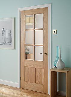 Mexicana Oak Glazed Oak Internal Doors - Light   Doors   Magnet Trade