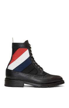 huge discount 79ff2 fb074 Thom Browne Black Quilted Nylon High Boots from SSENSE (men, style,  fashion, clothing, shopping, recommendations, stylish, menswear, male,  streetstyle, ...