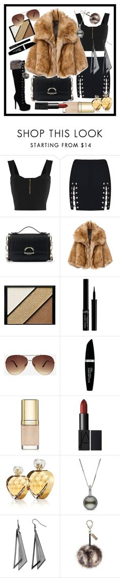 """Untitled #200"" by kaira54321 ❤ liked on Polyvore featuring Sole Society, Elizabeth Arden, Giorgio Armani, Ashley Stewart, Max Factor, Dolce&Gabbana and Untold"