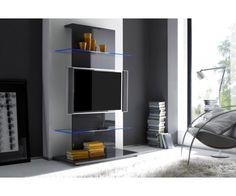 Glass Shelves At Home Depot Tv Furniture, Dining Room Furniture, Screen Door Repair, Best Tv Wall Mount, Wooden Screen Door, Wall Mounted Tv, Home Living, Living Room, Modern Living