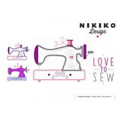 Stick Datei -  LoveToSew NIKIKO
