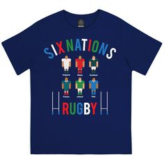 SIX NATIONS RUGBY TOURNAMENT BOYS/GIRLS UNISEX SPORTS COMPETITION KIDS – Batch1