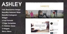 Version 1.0.2 is now available. Ashley is a responsive WordPress Blog Theme, Created using Underscores framework, comes with a Beautiful Featured Post widget, 6 different post formats, 5 diff...