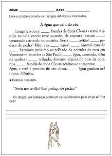 SOS PROFESSOR-ATIVIDADES: Artigo