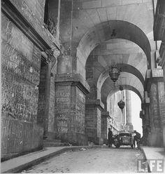 1945, Allemagne, Berlin, Reichstag Graffitis