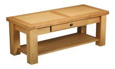 Oak Coffee table: Owen Pine and Oak Furniture - Oak Dining Bretagne