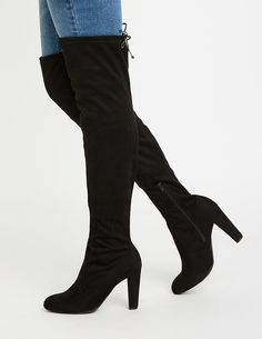 2c185ec2e513 Lace Up Over The Knee Boots