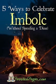 Penniless Pagan: 5 Ways to Celebrate Imbolc Without Spending a Dime