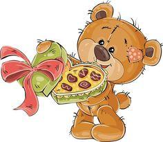 Fotografia Cute Cartoon Pictures, Cute Images, Cartoon Images, Cartoon Drawings, Cute Pictures, Cartoon Elephant, Bear Cartoon, Brown Teddy Bear, Cute Teddy Bears