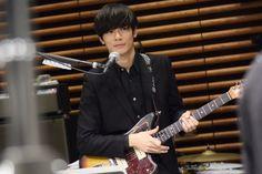 [Alexandros]川上洋平2015/3/18 先生来校!音楽室から生LIVE!!!!