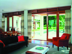 The CoFold™ System has been designed to maximise the flexibility of a room's living space, removing barriers and enabling the user to have an indoor/outdoor experience by fully opening up exterior walls. External Bifold Doors, Bifold Door Hardware, Sliding Room Dividers, Maximize Space, Folding Doors, Blinds For Windows, Sliding Glass Door, Open Up, Window Coverings