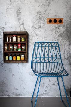 An Industrial and Eclectic Look for a HDB Flat by Green And Lush Renovation Budget, Electrical Switches, Industrial Chic, Lush, House Design, Cabinet, Interior Design, Chair, Storage