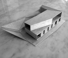 Architectural Model \ Casa Rupanco / duval+vives arquitectos