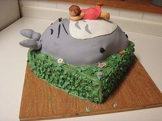 """Hayao Miyazaki's """"My Neighbor Totoro"""" Cakes « CAKES! CAKES! CAKES!"""