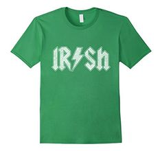 84dae81137a Men s Irish Rock and Roll Funny St. Patrick s Day T-Shirt 3XL Grass