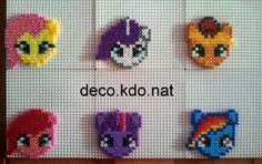 My Little Pony hama perler beads by Deco.Kdo.Nat