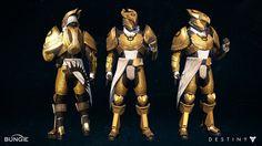 "Trials of Osiris Titan ""Exile"" Armor set, Ken Osuna on ArtStation at https://www.artstation.com/artwork/trials-of-osiris-titan-exile-armor-set"