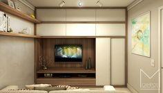 Miriã Campos | Arquitetura • Design • Maquete Eletrônica 3D | Design de interiores sala tv apt 2 – Projeto e Maquete eletronica 3D – Belo Horizonte BH – Miriã Campos MCampos arquitetura