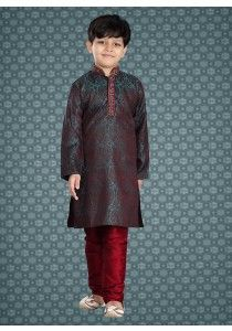 ff5febb7762 Bollywood stitched Kurta Kids Traditional Pajama Casual Ethnic Readymade  Indian in Clothes