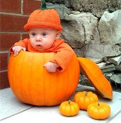 pictures of pumpkins | Hilarious photos of babies inside carved out pumpkins - Parentdish UK